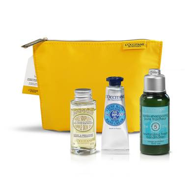 TROUSSE DECOUVERTE BAIN<BR> L'OCCITANE EN PROVENCE