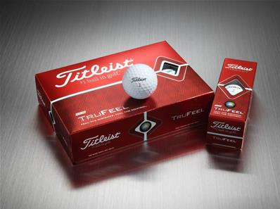 Balles TruFeel marquage texte<BR>Titleist
