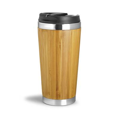 Mug isotherme  410 ml WOOD YOU
